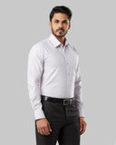 Raymond Light Red Regular Fit Shirt