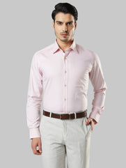 Raymond Light Pink Regular Fit Shirt