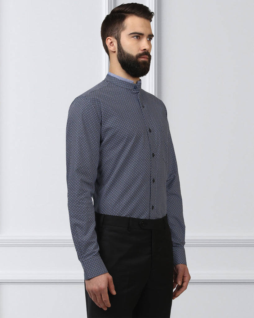 Raymond Black Contemporary Fit Shirt