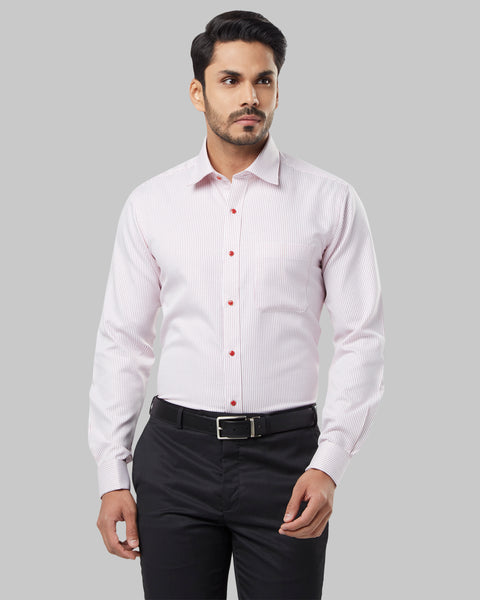Raymond Red Regular Fit Shirt
