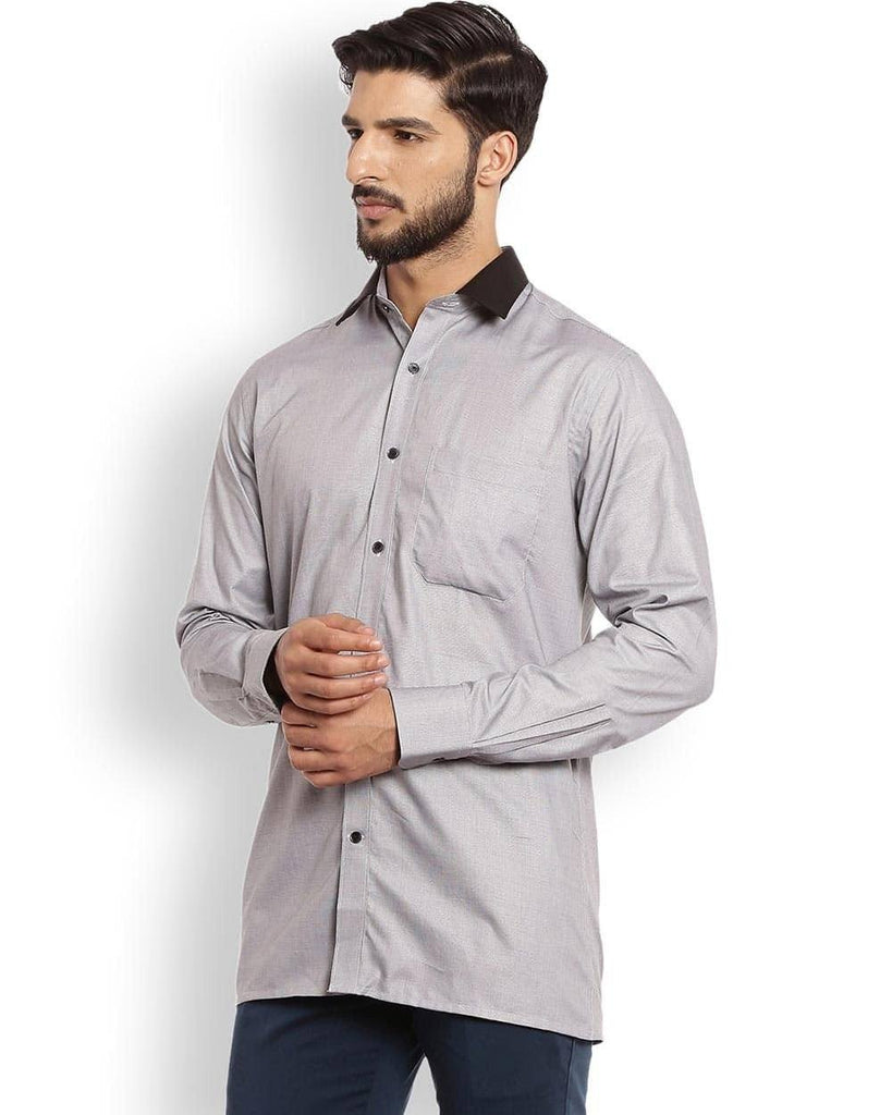 Raymond  Grey Slim Fit Shirt