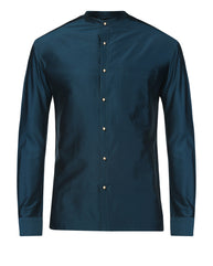 Raymond Dark Petrol Contemporary Fit Shirt