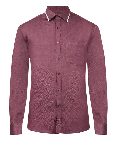 Raymond Red Slim Fit Shirt