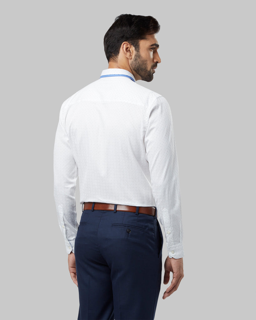 Raymond Light Blue Regular Fit Shirt
