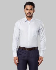 Raymond Light Petrol Regular Fit Shirt