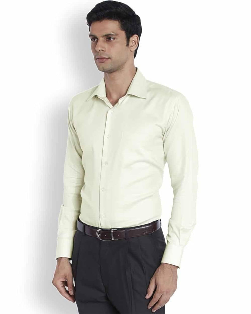 Raymond  Light Fawn Contemporary Fit Shirt