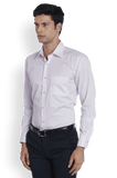 Raymond Light Red Contemporary Fit Shirt