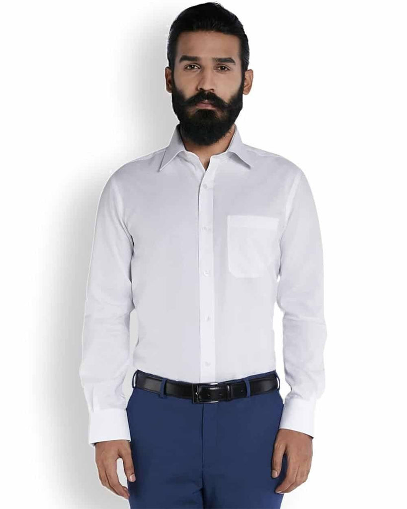 Raymond Pristine White  Ceremonial Shirt