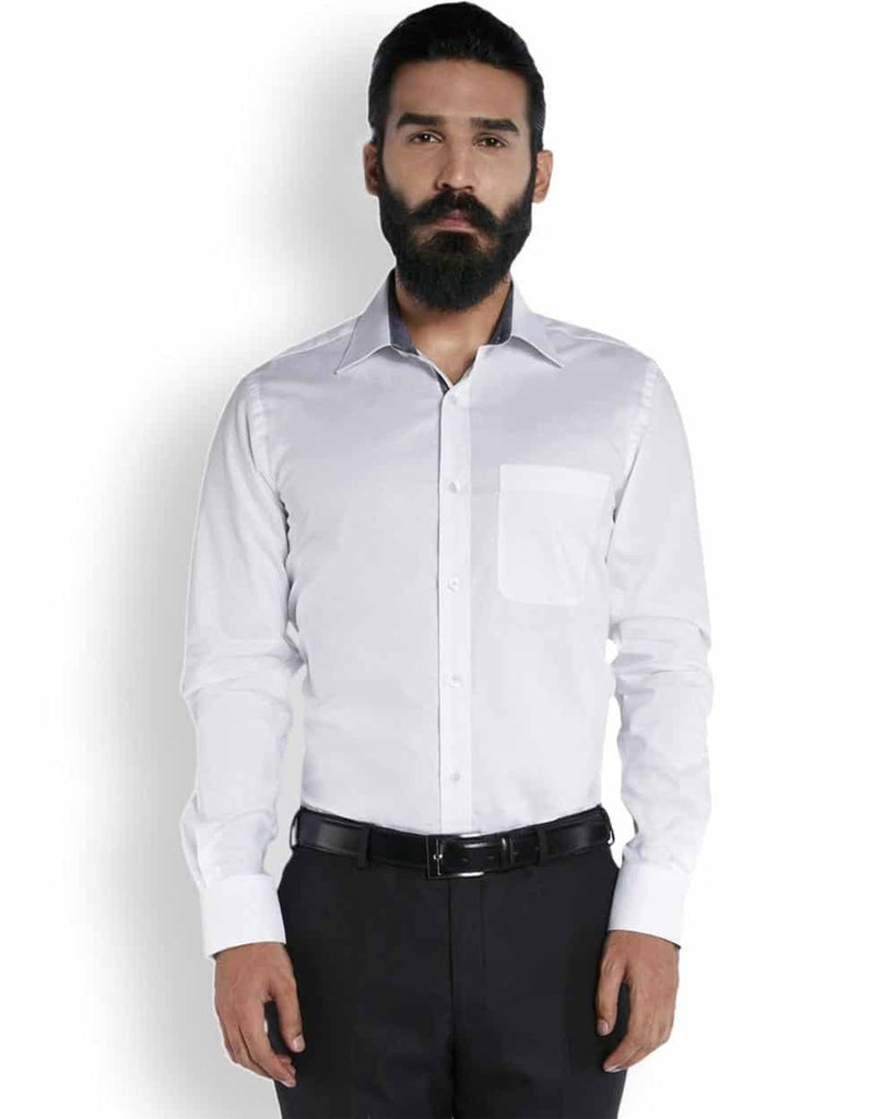 Raymond Eternal White Dobby  Shirt