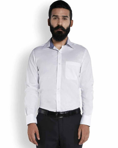 Raymond Eternal White Stripe  Shirt