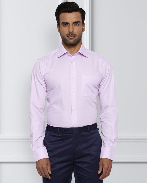 Raymond Light Pink Contemporary Fit Shirt