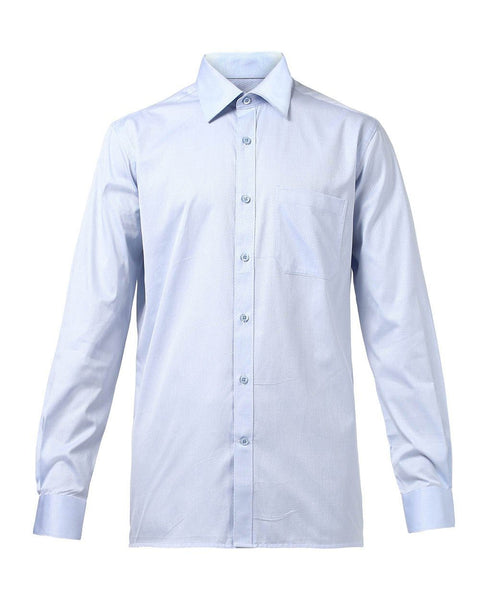 Raymond Men Blue Cotton Contemporary Fit Shirt