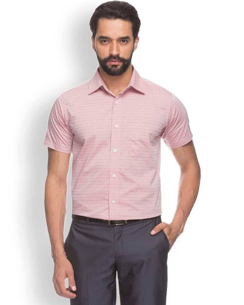 Raymond  Red Contemporary Fit Shirt