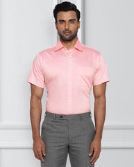 Raymond Medium Pink Contemporary Fit Shirt