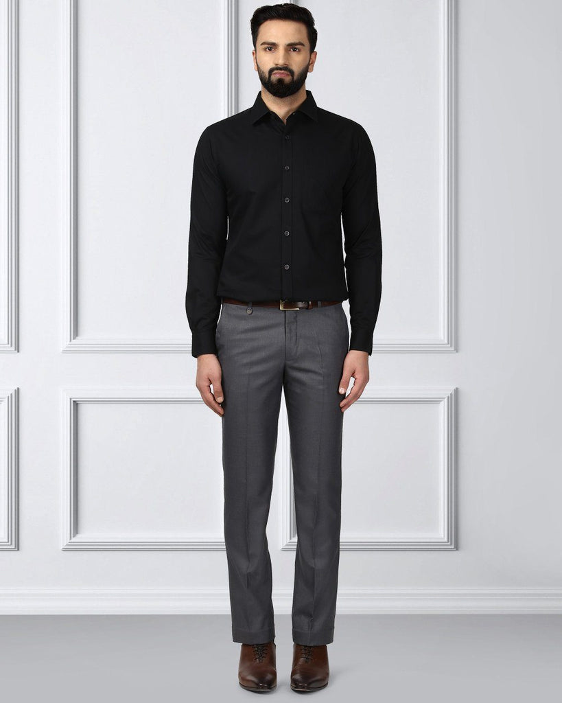 Raymond Black Slim Fit Shirt