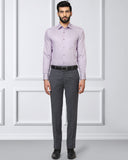 Raymond Dark Violet Contemporary Fit Shirt