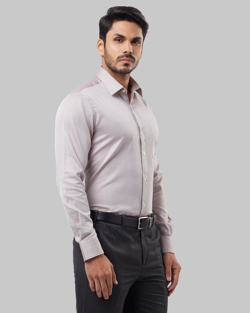 Raymond Brown Regular Fit Shirt