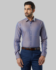Raymond Light Orange Slim Fit Shirt
