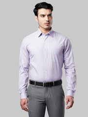 Raymond Light Violet Slim Fit Shirt