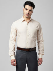 Raymond Light Fawn Slim Fit Shirt