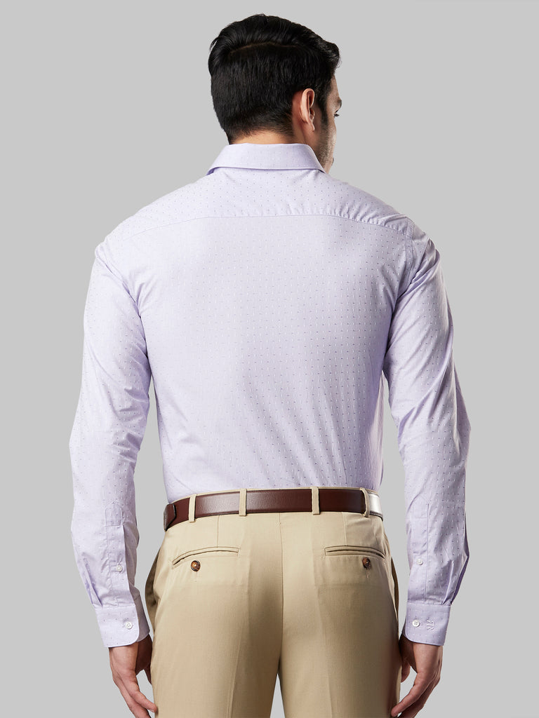 Raymond Medium Violet Slim Fit Shirt