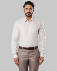 Raymond Medium Fawn Slim Fit Shirt