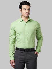 Raymond Dark Green Slim Fit Shirt
