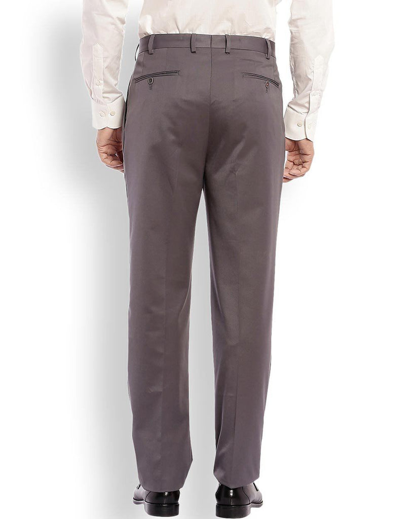 Raymond  Grey Regular Fit Trouser