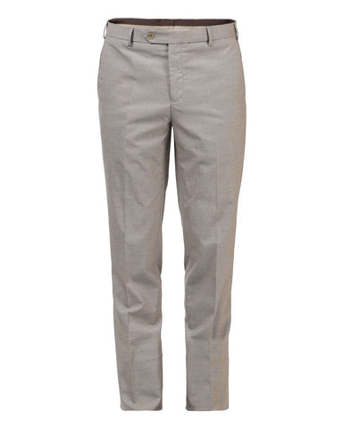 Raymond Dark Fawn Slim Fit Trouser