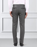 Raymond Grey Slim Fit Trouser