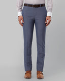 Raymond Medium Blue Slim Fit Trouser