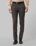 Raymond Brown Slim Fit Trouser