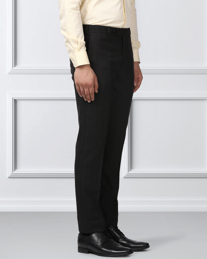 Raymond Dark Brown Contemporary Fit Trouser