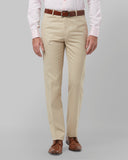 Raymond Dark Fawn Regular Fit Trouser