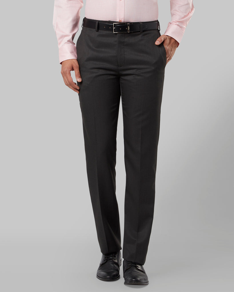 Raymond Black Regular Fit Trouser
