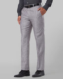 Raymond Medium Grey Regular Fit Trouser