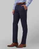 Raymond Dark Blue Regular Fit Trouser
