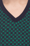 Raymond  Green Checkered Sweater