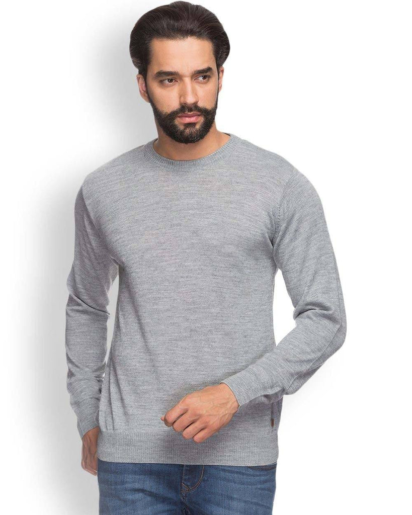 Raymond  Grey Contemporary Fit Sweater