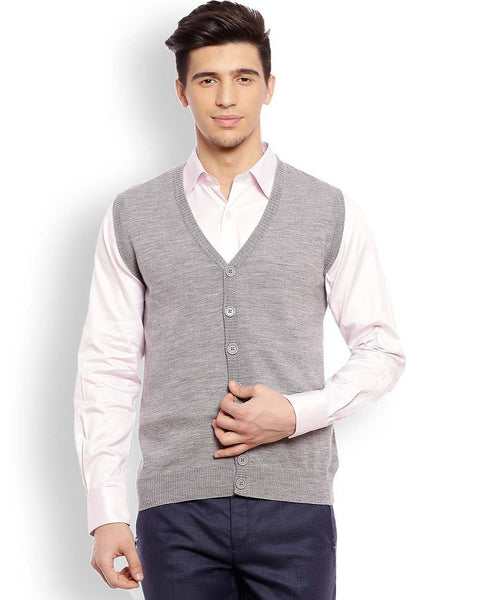 Raymond Medium Grey Contemporary Fit Sweater
