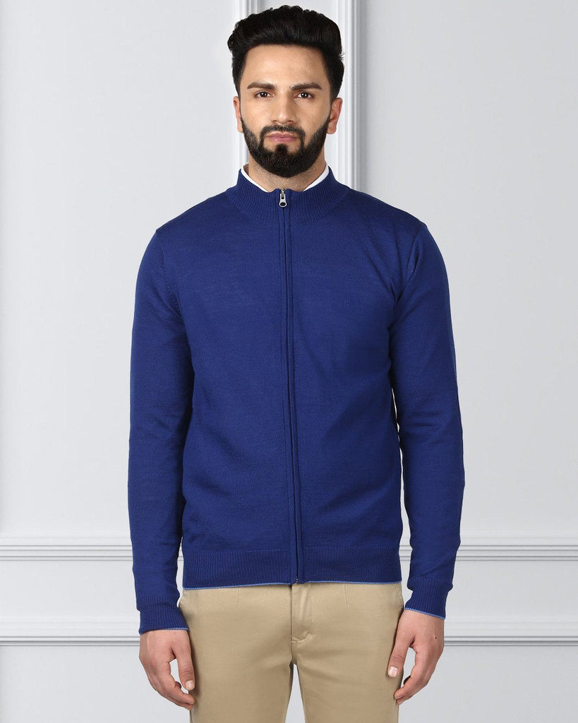 Raymond Blue Contemporary Fit Sweater