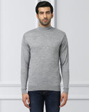 Raymond Light grey Contemporary Fit Sweater