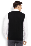 Raymond Black Solid Sweater