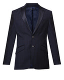 Raymond Dark Blue Contemporary Fit Blazer