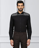 Raymond Black Regular Fit Shirt