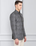 ethnix Grey Regular Fit Jacket