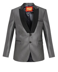 ethnix Grey Tailored Fit Blazer