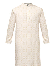 Khadi by Raymond Green Regular Fit Kurta Set