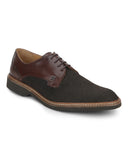 Raymond Dark Khaki Formal Shoes