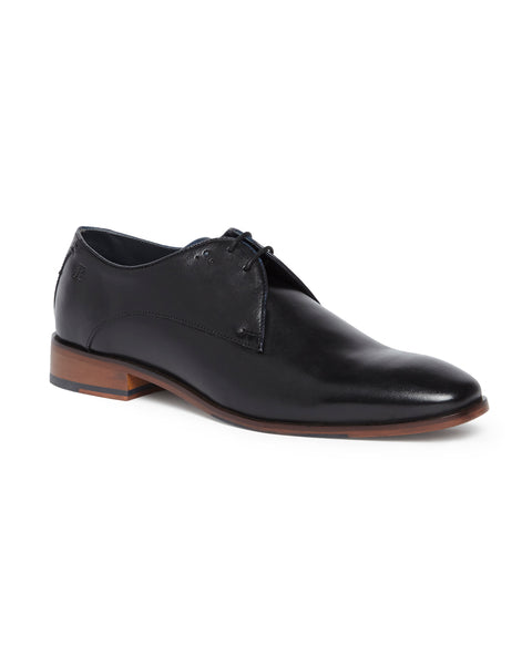 Raymond Black Regular Fit Footwear